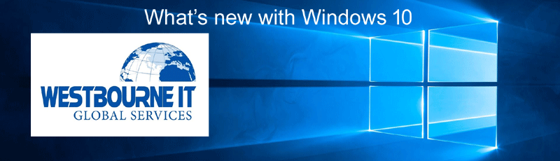 10 New Features on Windows 10